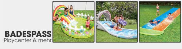 Badespaß, Playcenter, Wasserbahnen & mehr